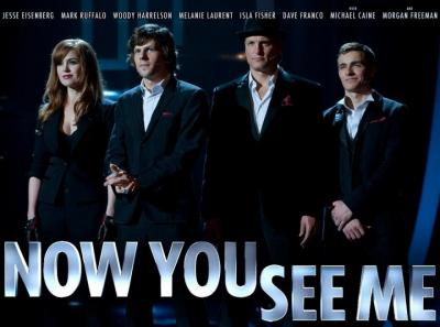 Now you see me....