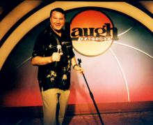 Jeff Wayne at the Laugh Factory.