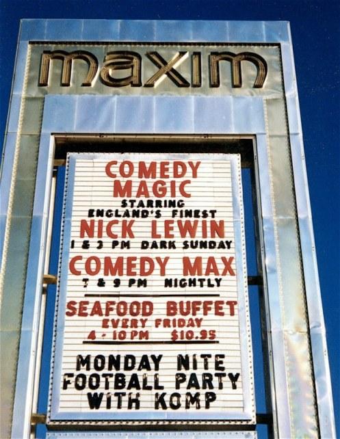 Maxim Billboard